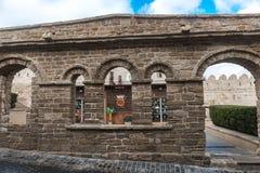 Historisches Gebäude in Baku-Stadt Stockbild
