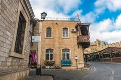 Historisches Gebäude in Baku-Stadt Lizenzfreie Stockfotografie