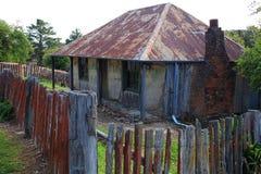 Historisches Gebäude Beyers Cottages Stockbild