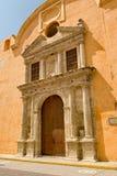 Historisches Gebäude Cartagena stockbild