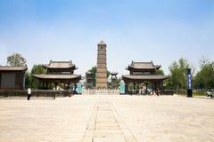 Historisches Gebäude Chineseluoyangs - der Haupttor von luoyi Stadt - Qing-Dynastie-Architektur wenfeng Turm lizenzfreies stockfoto
