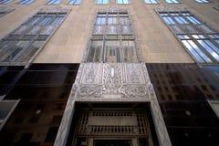 Historisches Gebäude in der modernen Stadt Oklahoma Lizenzfreies Stockfoto