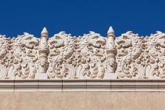 Historisches Gebäude-Details Stockbilder
