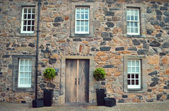 Historisches Gebäude, Edinburgh-Schloss Stockbilder