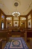 Historisches Gebäude-Gerichtssaal 2 Stockbild