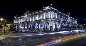 Historisches Gebäude in Guadalajara lizenzfreie stockfotos