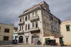 Historisches Gebäude in Havana Lizenzfreies Stockfoto