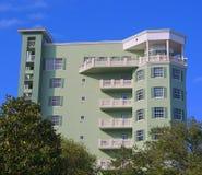 Historisches Gebäude in Melbourne, Florida Stockfotografie