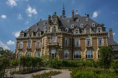 Historisches Gebäude in Namur Stockfoto