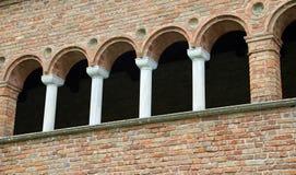 historisches Gebäude nannte Palazzo-della Ragione in Italien Lizenzfreie Stockfotos