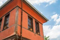 Historisches Gebäude in Odunpazari Eskisehir Stockbilder