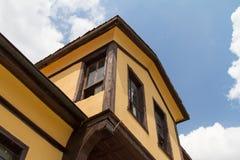 Historisches Gebäude in Odunpazari Eskisehir Lizenzfreies Stockbild