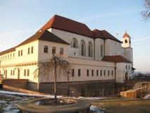Historisches Gebäude in pilberk BrnosÅ stockbilder
