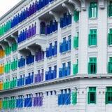 Historisches Gebäude in Singapur. Lizenzfreie Stockbilder