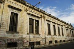 Historisches Gebäude verlassen Stockbild