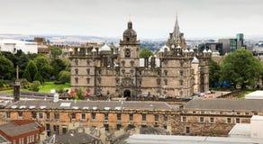 Historisches Gebäude von Edinburgh Lizenzfreies Stockbild