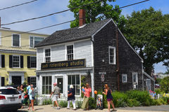Historisches Gebäude in Rockport, Massachusetts Lizenzfreie Stockfotos