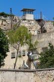 Historisches Gefängnis in der türkischen Stadt Sinop beim Schwarzen Meer lizenzfreie stockfotos