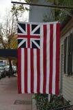 Historisches großartiges Union Jack Lizenzfreies Stockbild