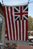 Historisches großartiges Union Jack Stockbild