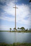 Historisches großes Kreuz-St. Augustine Florida Stockfotos