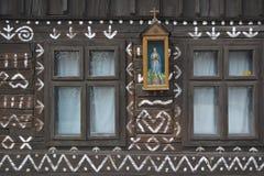 Historisches Häuschen Stockfoto
