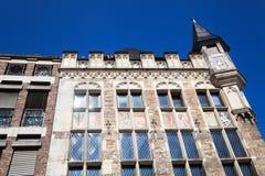 Historisches Haus in Aachen, Deutschland Stockbilder