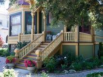 Historisches Haus in San Jose CA Lizenzfreies Stockbild