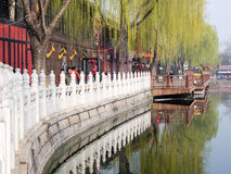 Historisches im Stadtzentrum gelegenes Peking Lizenzfreies Stockbild