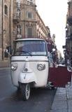 Historisches italienisches Motorrad Stockfotos