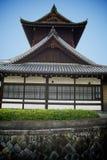 Historisches japanisches Gebäude stockbild