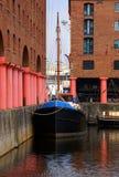 Historisches königliches Albert-Dock Stockfoto