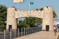 Historisches Khyber Tor Pakistans lizenzfreies stockfoto
