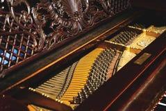 Historisches Klavier stockbilder