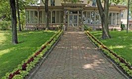 historisches Landhaus Louis acht Stockfotos