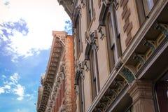 Historisches Las Vegas-New Mexiko Lizenzfreie Stockfotos