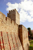 Historisches Lissabon-Schloss Stockbilder