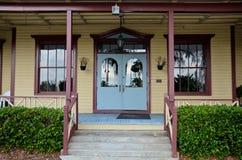 Historisches Longwood Dorf-Gasthaus stockbilder