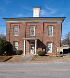 Historisches Lumpkin Grafschaft-Gefängnis in Dahlonega Georgia Lizenzfreie Stockfotografie