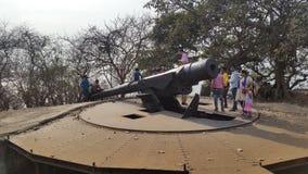 historisches missiel stockfoto