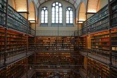 Historisches Museum Bibliotheksamsterdams berühmt stockbilder