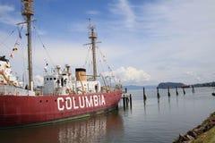 Historisches Nabel-Schiff Stockfotos