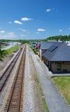 Historisches Norfolk u. Westpassagier-Depot, Abington, Virginia Stockfoto