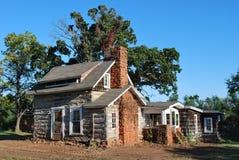 Historisches Oklahoma-Haus Stockbilder
