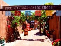 Historisches Oldtown in Albuquerque Lizenzfreie Stockbilder