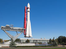 Historisches Ost-Rocket Stockfotos