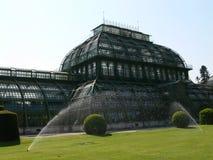 Historisches Palmenhaus Stockfoto