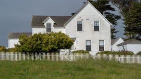 Historisches Pierce Point Ranch-Haupthaus lizenzfreie stockfotografie