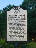 Historisches Plakat aufgrund Süd-Carolina State Houses Lizenzfreie Stockfotografie
