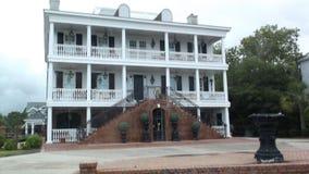 Historisches Plantagen-Haus South Carolina USA lizenzfreies stockfoto